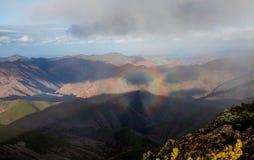 Berg Lopatina Arkivbild