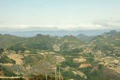 Berg in Lung Cu Stock Afbeeldingen