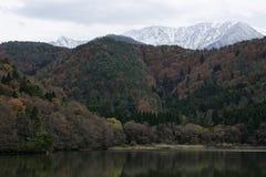Berg met de sneeuw Stock Afbeelding