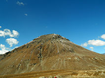 Berg mit blauem Himmel Lizenzfreie Stockfotografie