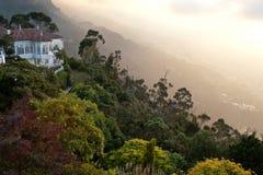 Berg Monserrate Arkivbilder