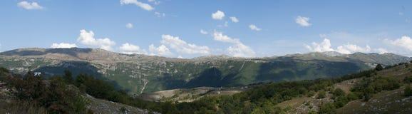 Berg in Montenegro stockbilder