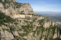 Berg Montserrat, Montserrat Monastery, Catalonia, Spanien. Royaltyfri Foto