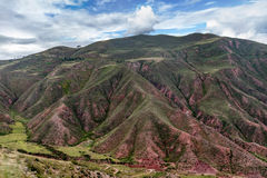 Berg nära Machu Picchu i Peru Royaltyfri Bild