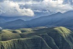 Berg nära Tarija Royaltyfri Fotografi