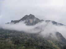Berg nahe nong Khiaw stockbild