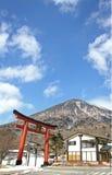 Berg Nantai arkivbild
