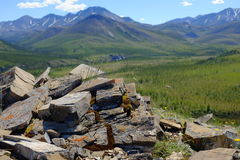 Berg Nationalparks Ivvavik Lizenzfreie Stockfotografie