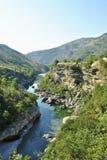berg natur Arkivbild