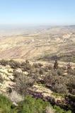 Berg Nebo in Jordanien Lizenzfreies Stockfoto