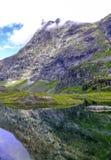 Berg in Noorwegen Royalty-vrije Stock Afbeelding