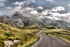 Berg Norge Arkivbild