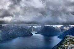 Berg Norge Royaltyfri Fotografi