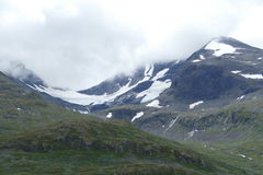Berg Norge Royaltyfri Foto