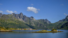 Berg Norge Royaltyfri Bild