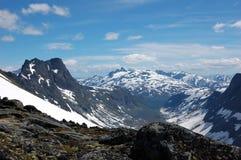 berg norway Royaltyfria Foton