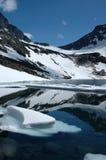 berg norway Royaltyfri Fotografi