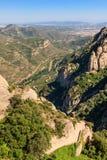 Berg och dal arkivbilder