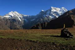 Berg och dalar arkivfoton