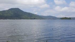 Berg och hav Arkivfoton