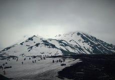 Berg och natur Fotografering för Bildbyråer