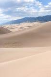 Berg och Sand Royaltyfria Bilder