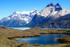 Berg och sjöar Arkivbilder