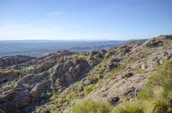 Berg och sky Royaltyfri Fotografi