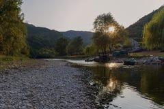 Berg och stenar av Montenegro Royaltyfri Bild