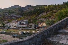 Berg och stenar av Montenegro Royaltyfri Fotografi