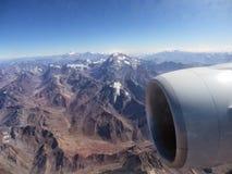 Berg och turbiner Arkivfoto