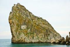 Berg op zee Royalty-vrije Stock Foto's