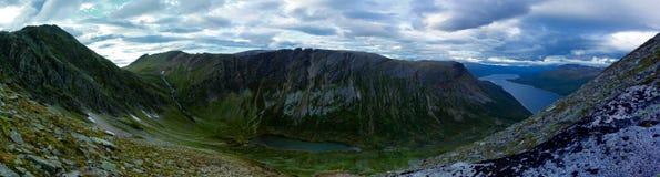 Berg in oppdal Norwegen Lizenzfreies Stockfoto