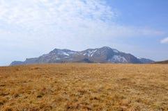 Berg Oshten en plateau Lagonaki Royalty-vrije Stock Afbeelding