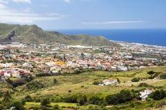 Berg på ön av Tenerife Royaltyfria Bilder