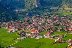 Berg på Bac Son Fotografering för Bildbyråer