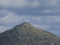 Berg på den Majorca ön Fotografering för Bildbyråer