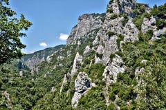 Berg på Grekland royaltyfri bild