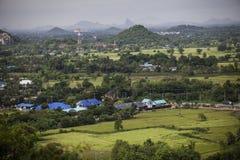 Berg på Ratchaburi, Thailand Royaltyfri Fotografi