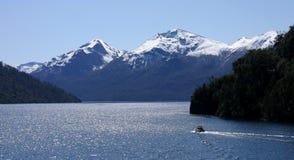 Berg på San Carlos de Bariloche Arkivbilder