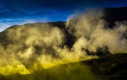 Berg Pangrango Stockbilder