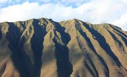 berg peru Arkivbild