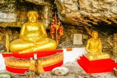 Berg Phousi, Laos Stockbilder