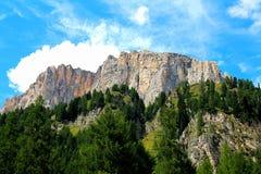 Berg Puez Odle Stockbild