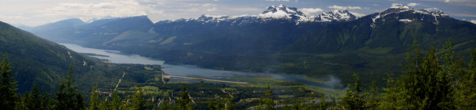 Berg Revelstoke Lizenzfreies Stockbild