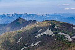Berg Ridge Royaltyfri Fotografi