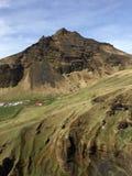 Berg Ridge i Island Arkivbild