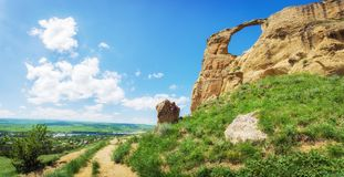 Berg` Ring ` dichtbij Kislovodsk, Rusland Stock Fotografie