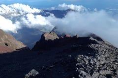 Berg Rinjani-Trekking Lizenzfreies Stockbild