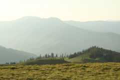 berg romania Royaltyfri Fotografi